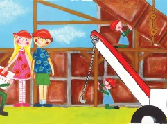 Above is a sample illustration from author Michelle Gilman