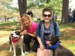 Champ and Suki joined in at the SPCA of Westchester