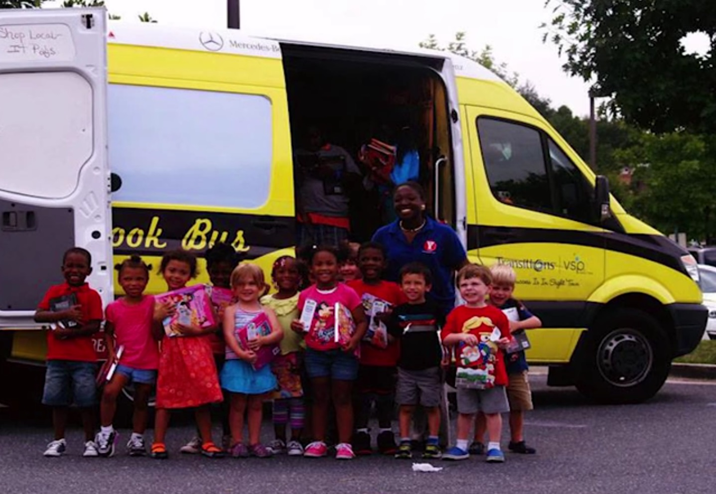 Bess The Book Bus Gets A Boost