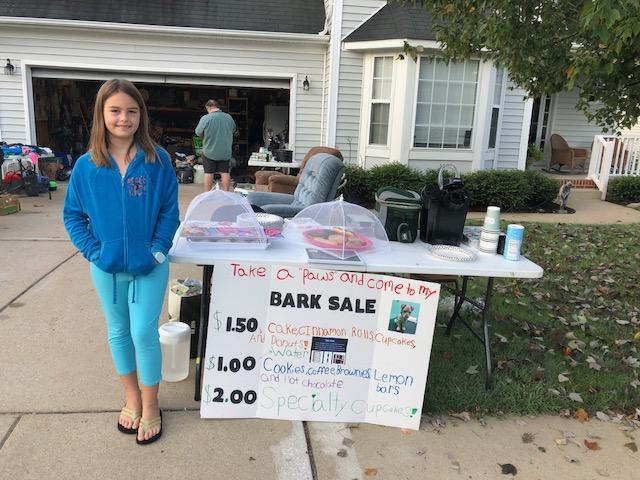 9-Year Old Raises $1300 for rural Animal Shelter