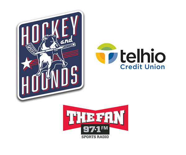 TFF Thanks Hockey & Hounds / Anthony Rothman (97.1 The Fan) and Telhio Union Bank